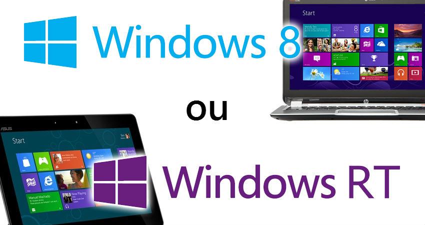 download - Windows 8 RT ou Windows 8 Pro? Quelles-sont les différences?