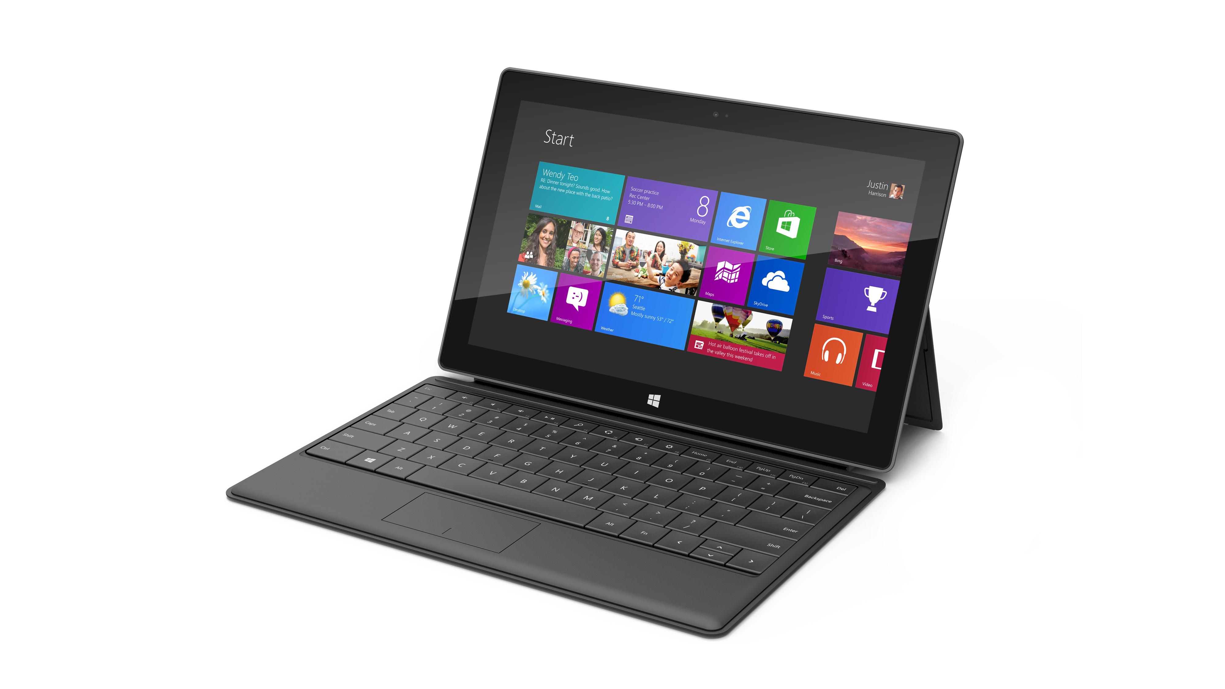 microsoft surface 1 - La Microsoft Surface RT, bientôt chez Future Shop!