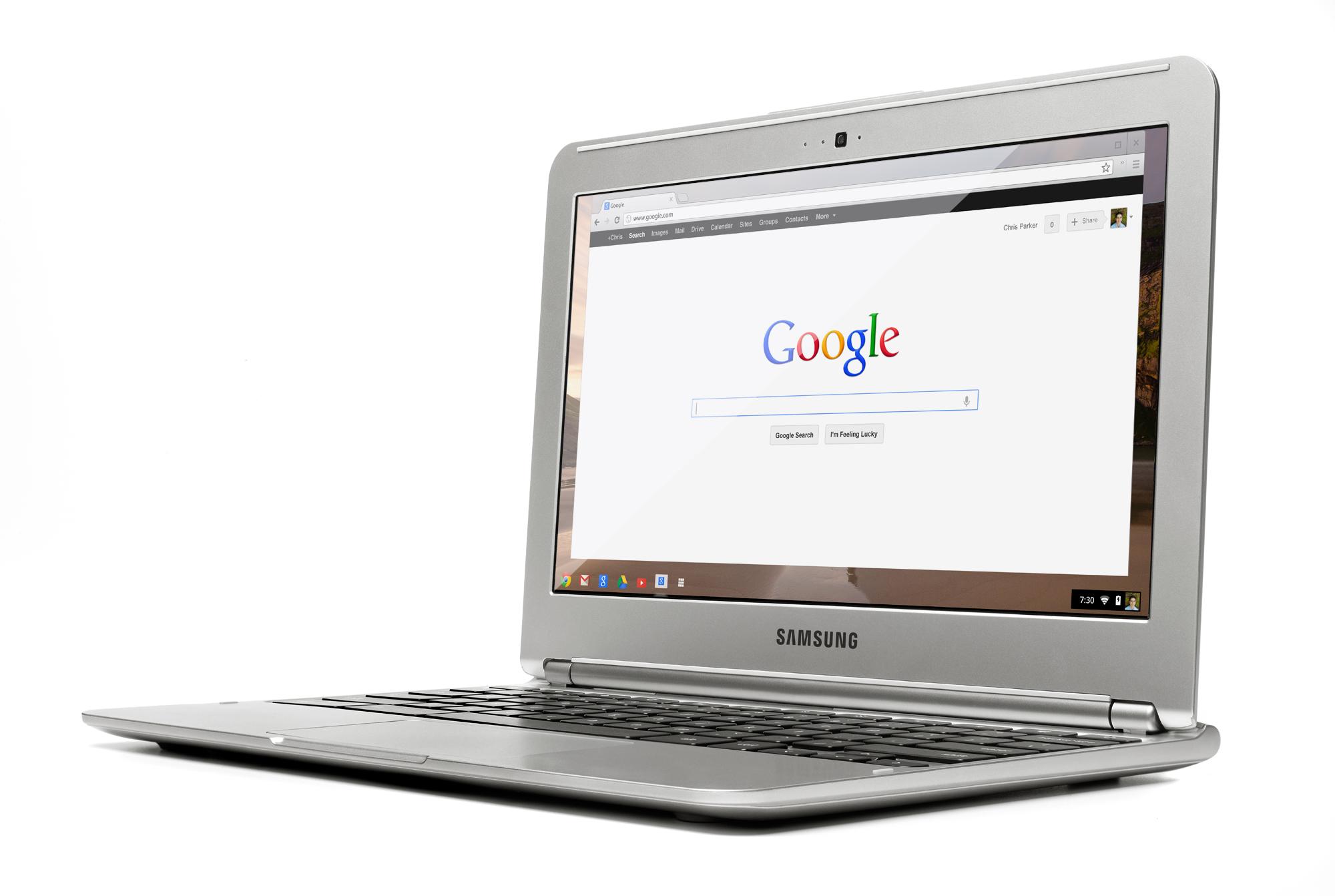 samsung chromebook frontview2 webres - Les Chromebook arrivent chez Future Shop!