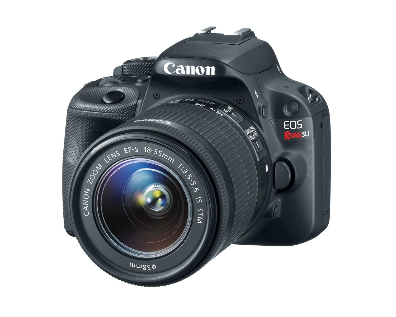 20130321 hiRes eossl1 3qlens - Canon EOS Rebel SL1, la caméra dSLR super compacte!