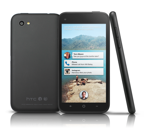htc first slide 01 - HTC annonce le First avec Facebook Home préinstallé