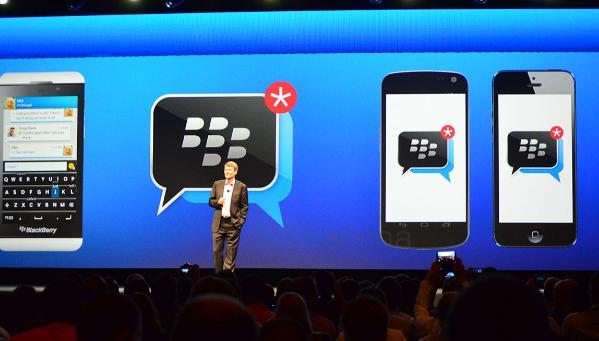 1392758244948 - BlackBerry lancera BBM sur iOS et Android
