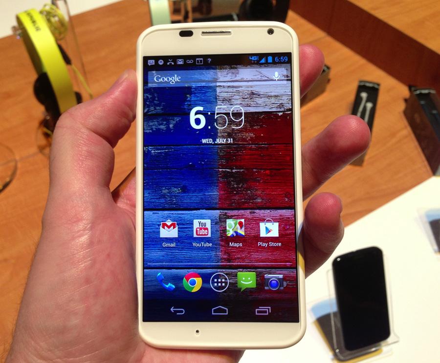 1392758233159 - Moto X de Motorola, le renouveau américain en matière de cellulaire