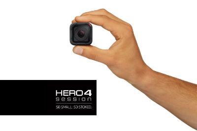 1436213307638 - GoPro lance la HERO4 Session, une caméra ultra-compacte