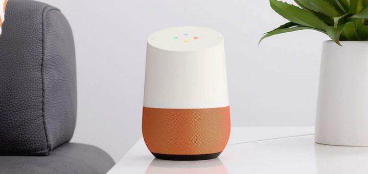 google home 720x340 - Imaginons ensemble le futur des assistants vocaux cylindriques